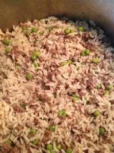 Lebanese Rice and Meat